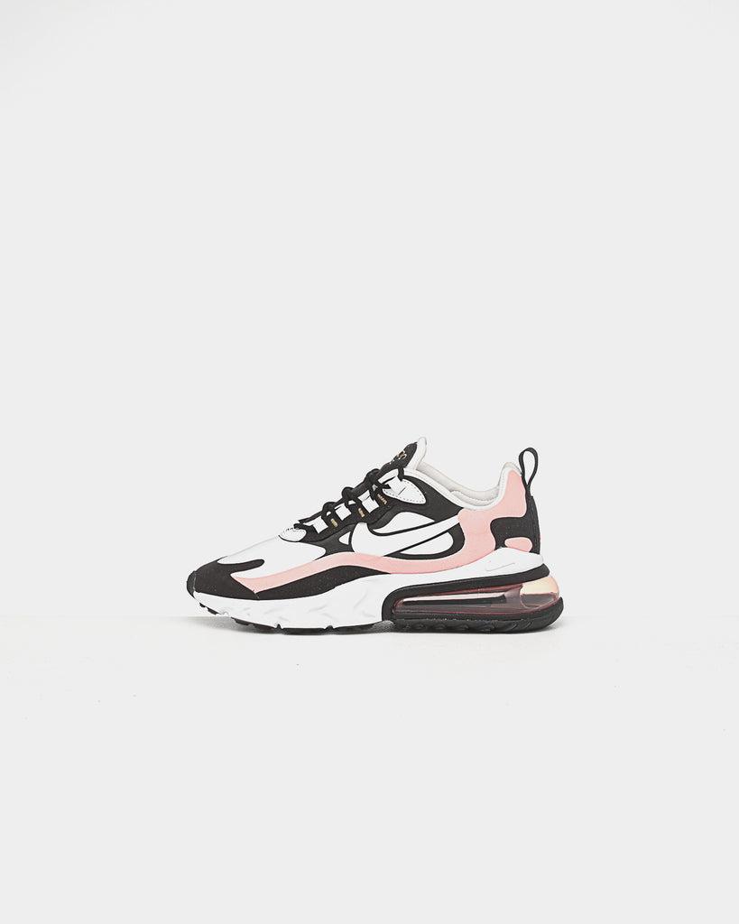 Nike Women's Air Max 270 React BlackWhiteCoral