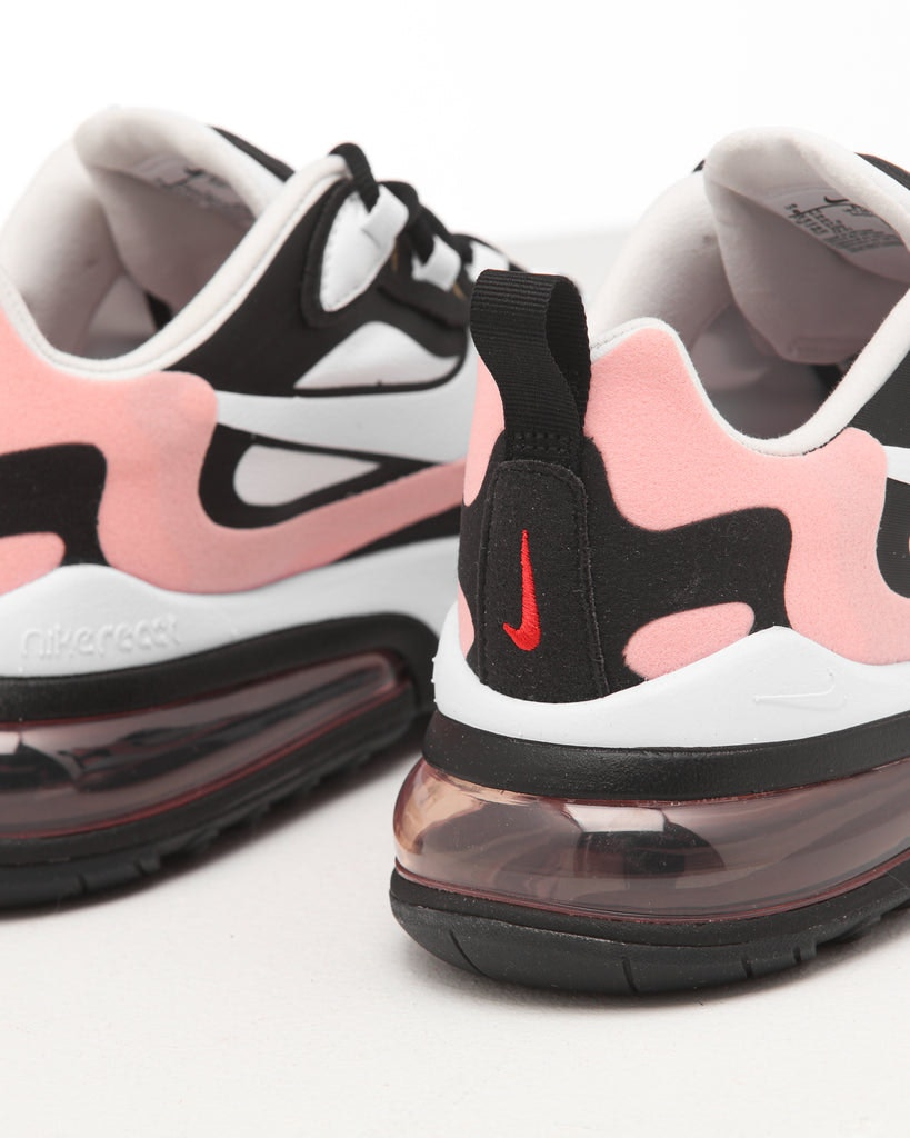 Nike Women\u0027s Air Max 270 React Black/White/Coral