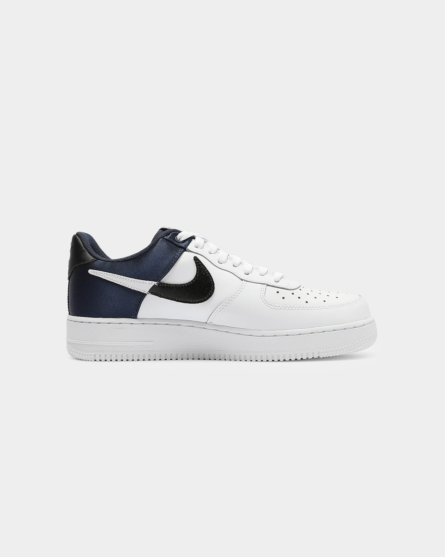 nike air force 1 mid 07 navy material