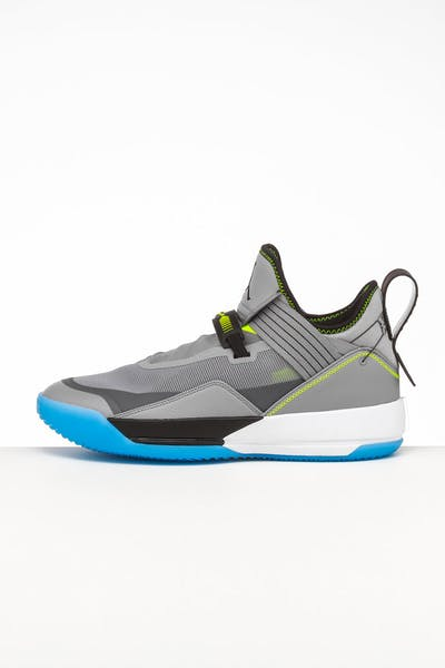 Jordan Air Jordan XXXIII SE Grey/Black/Volt