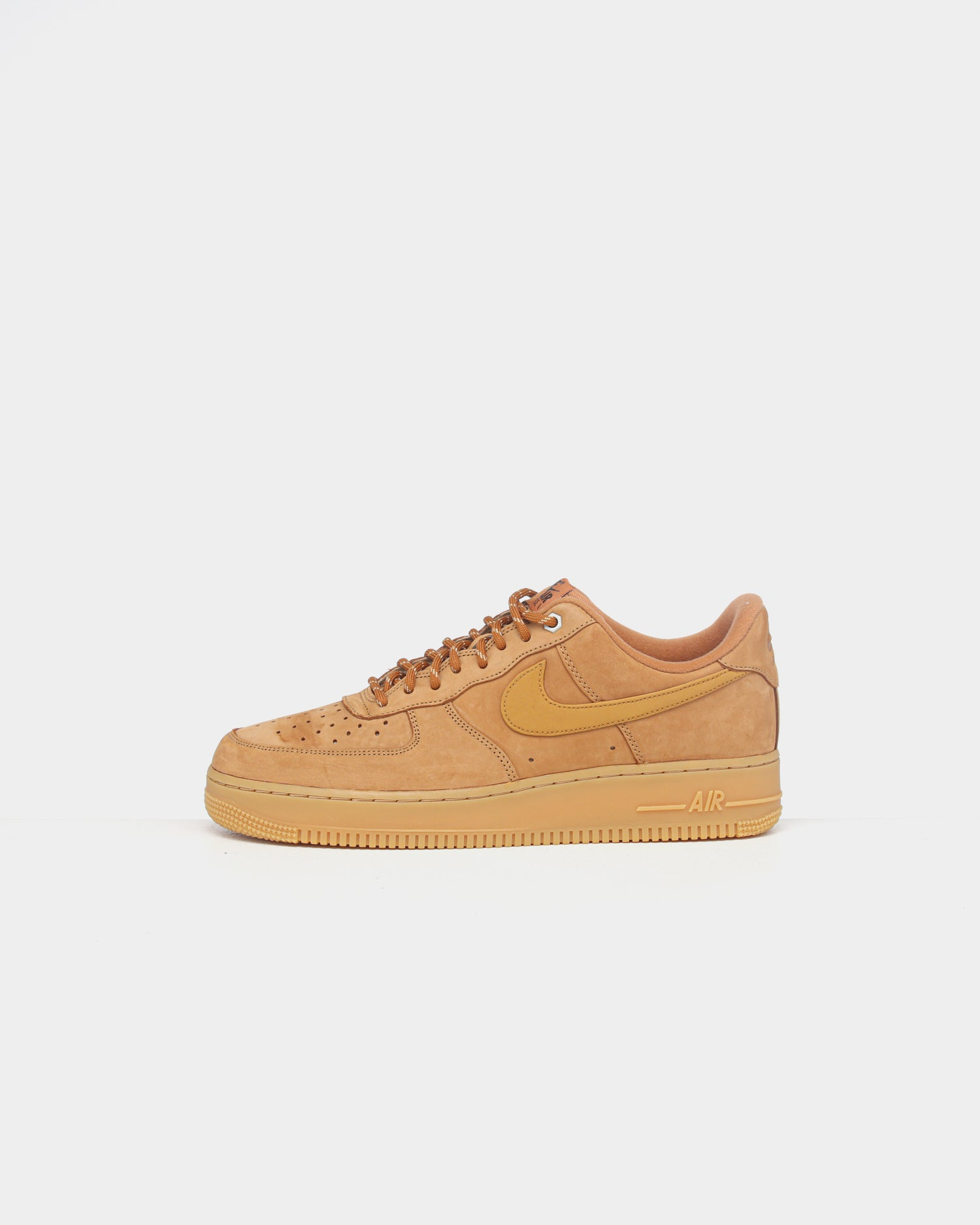 Mens Nike Air Force 1 Low Af1 Wb Suede Sneaker In Wheat Flax Gum
