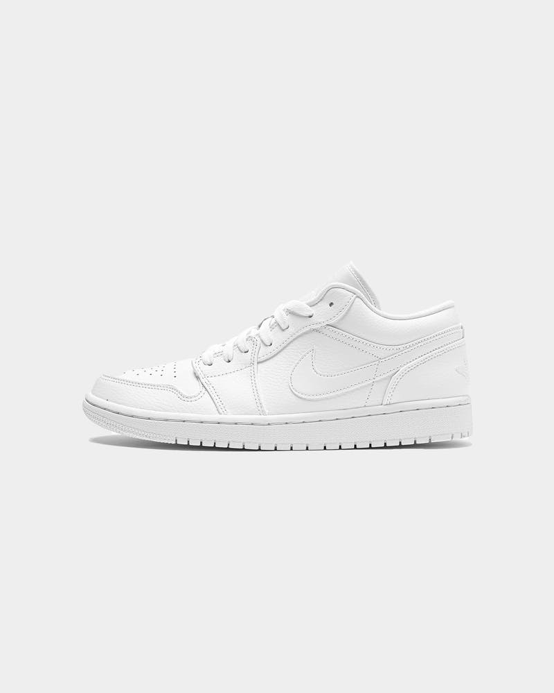 Jordan Air Jordan 1 Low White/White/White