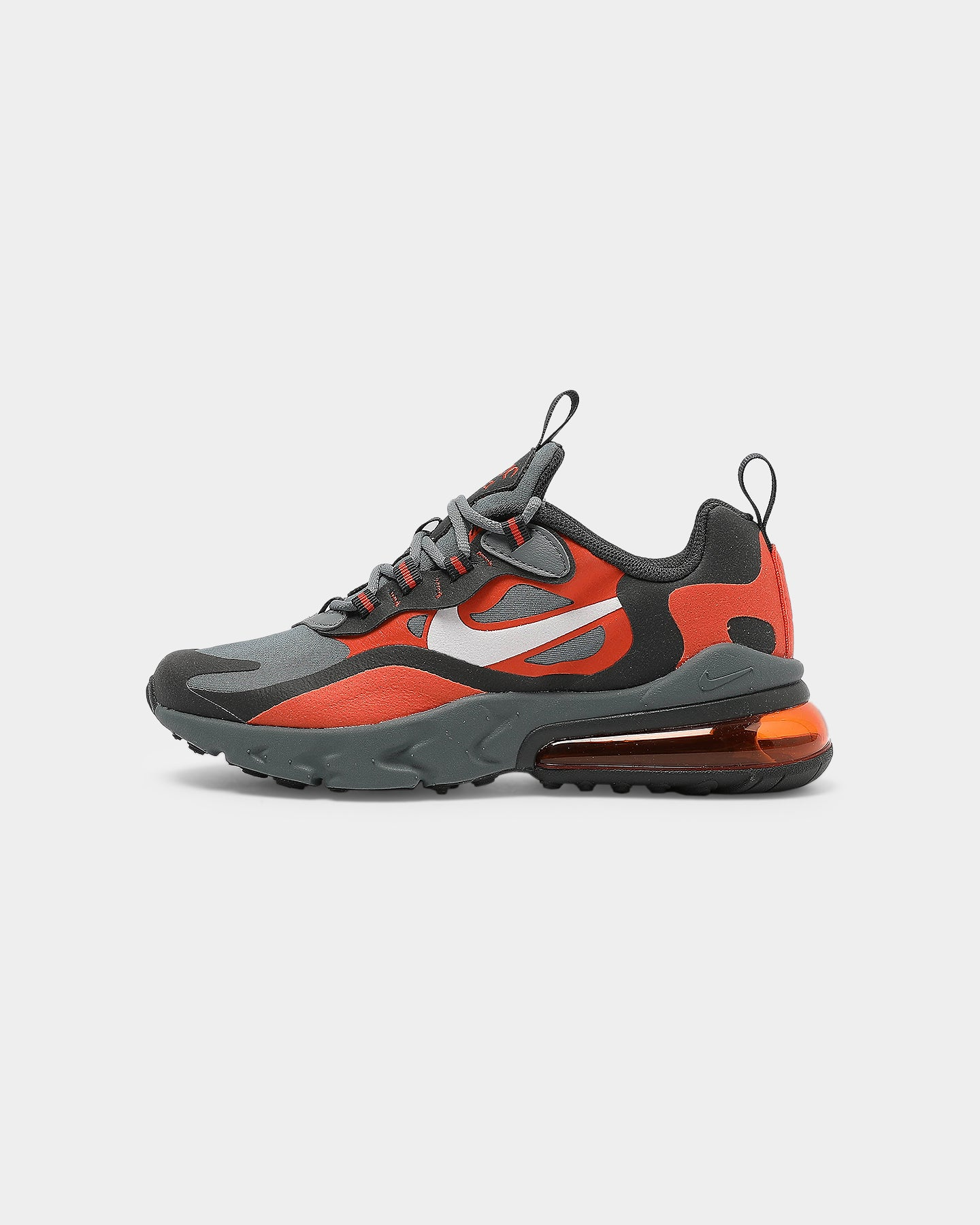 Nike Kids Air Max 270 React (GS) GreyWhiteAnthracite