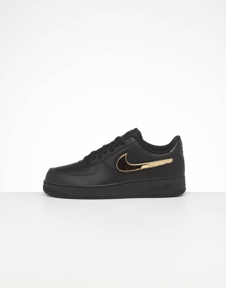 NIKE AIR FORCE 1 '07 LV8 3 BLACK/BLACK/WHITE
