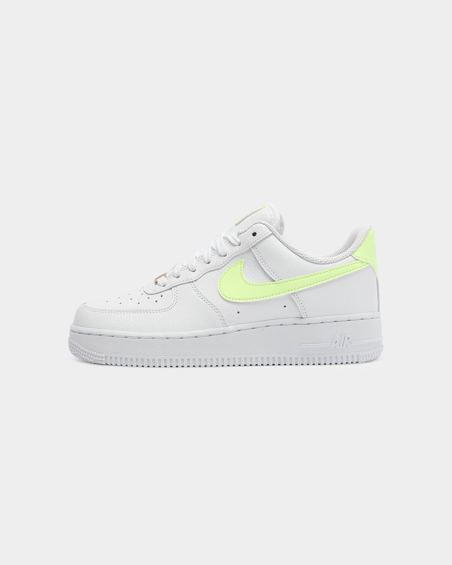 Nike Women's Air Force 1 '07 WhiteVoltWhite