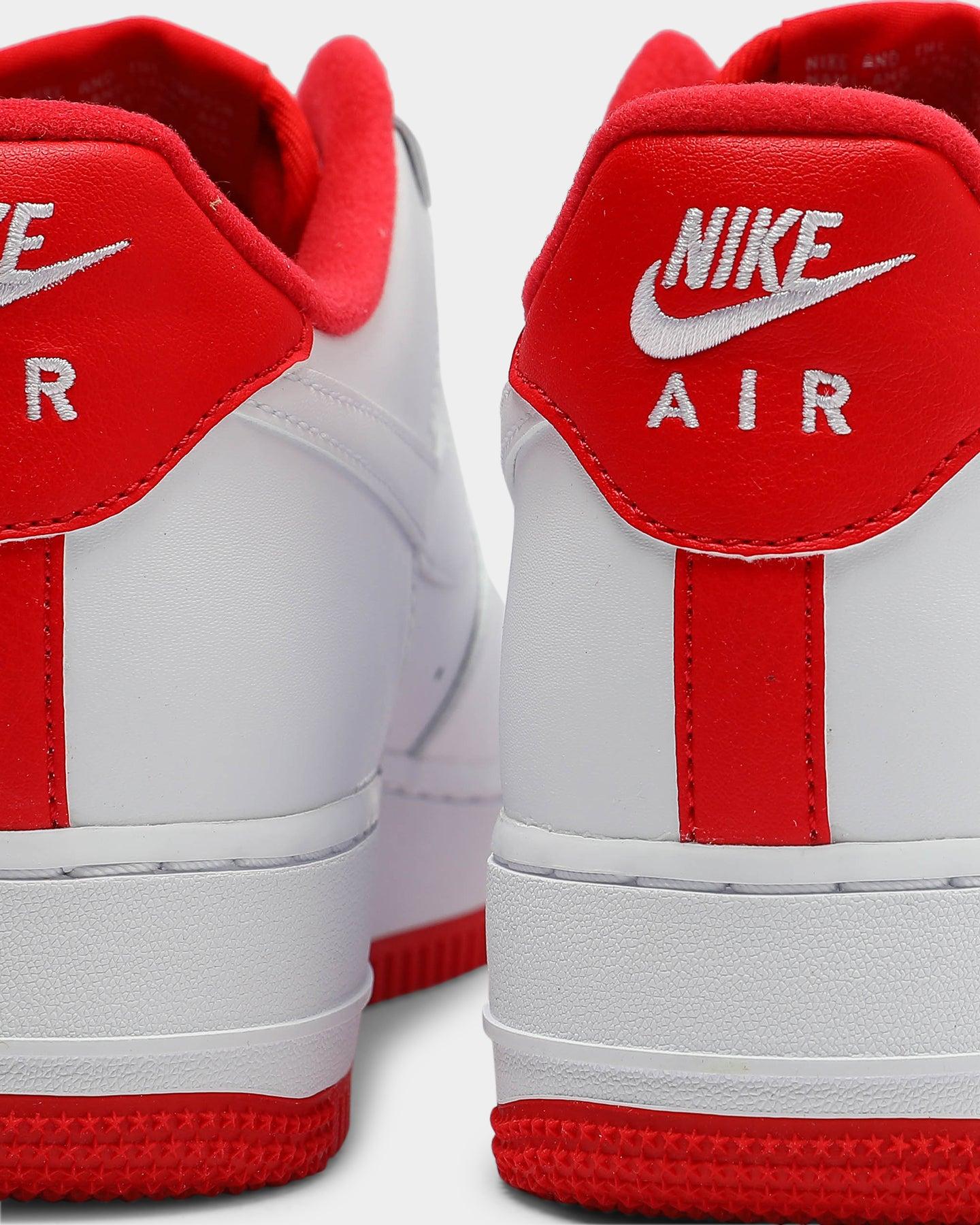 Nike Air Force 1 '07 WhiteRed