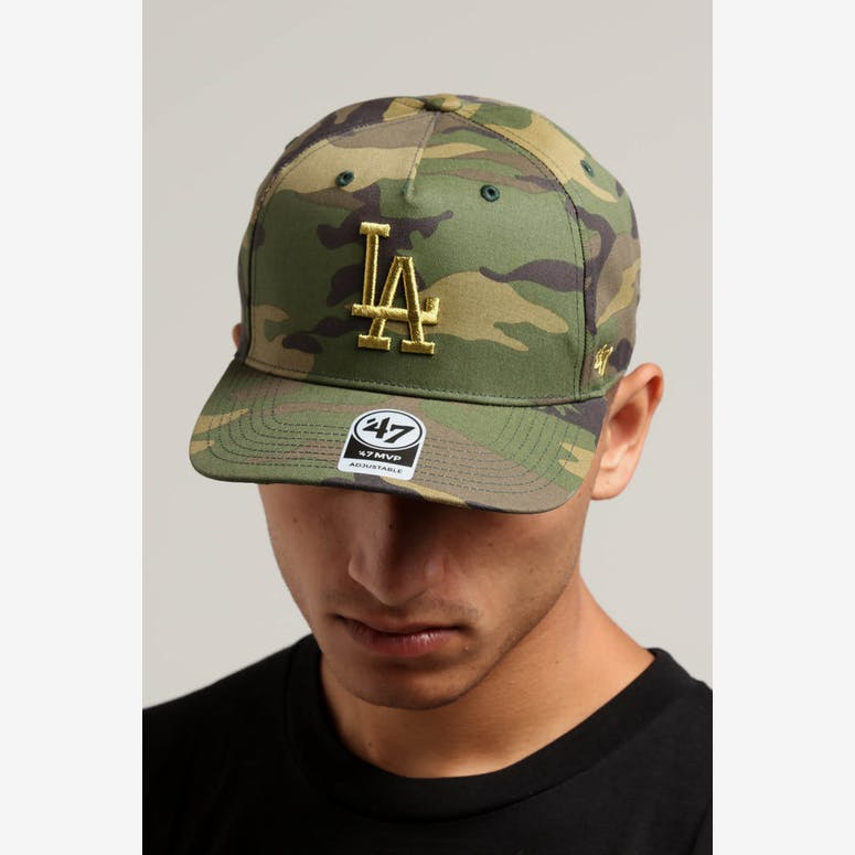 47 Brand Los Angeles Dodgers Camo MVP DP Strapback Camo – Culture Kings 211b3d469