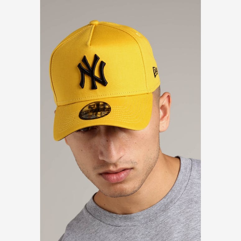 New Era New York Yankees 9FORTY A-Frame Snapback Mustard Black – Culture  Kings 2a2afb5591b2
