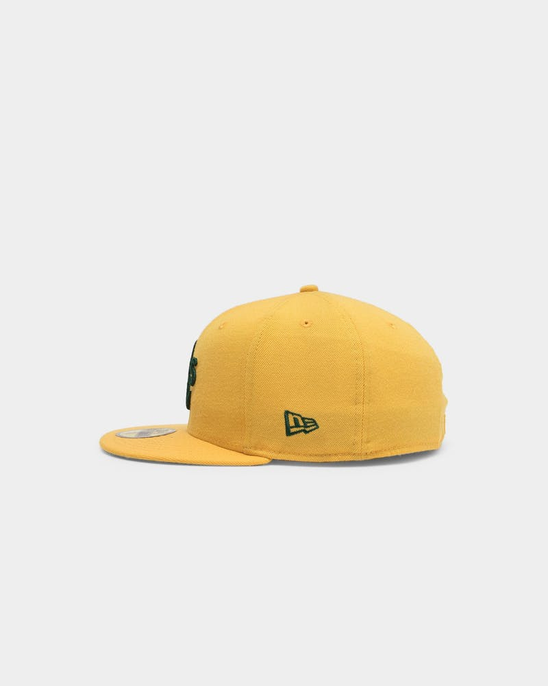New Era Oakland Athletics 59FIFTY Fitted Gold/Dark Green