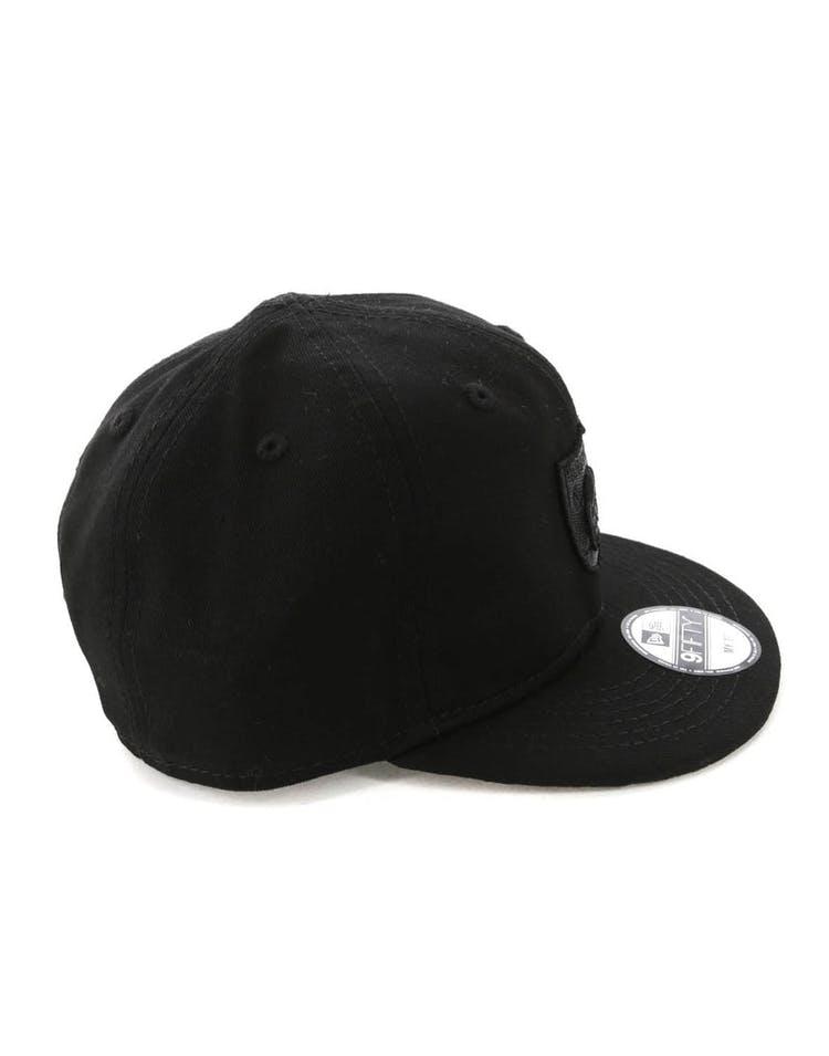 new product 77115 ad81c New Era My 1st Raiders 9FIFTY Snapback Black Leopard