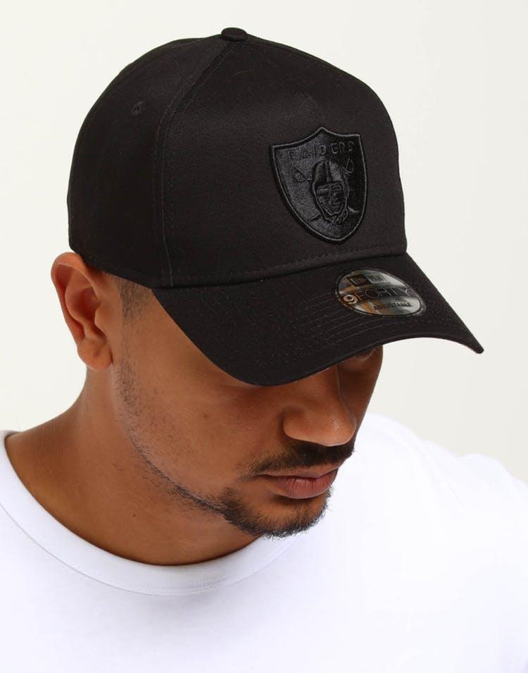 release date: 2c28b 50da0 New Era Raiders 9FORTY A-Frame Snapback Black Leopard – Culture Kings