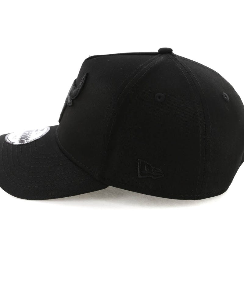 New Era Chicago Bulls 9FORTY A-Frame Snapback Black/Leopard