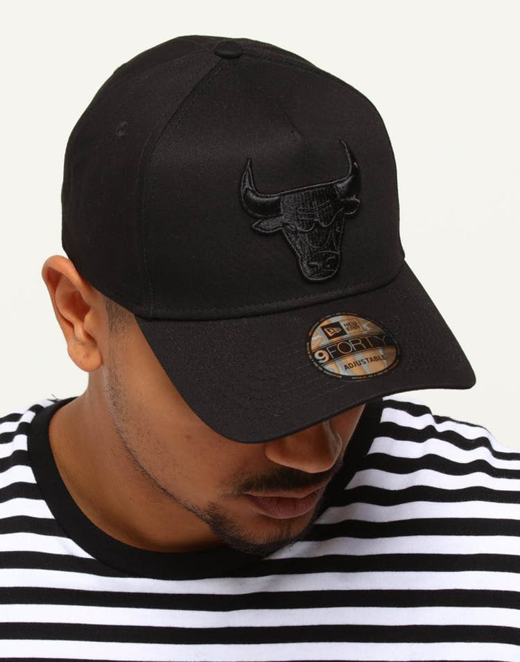 0378687abe9356 New Era Chicago Bulls 9FORTY A-Frame Snapback Black Leopard – Culture Kings