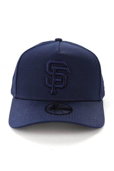 cheaper 761a9 22f1e New Era Youth San Francisco Giants 9FORTY A-Frame Strapback Teal ...