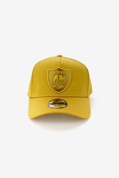New Era Youth Raiders 9FORTY A-Frame Strapback Gold