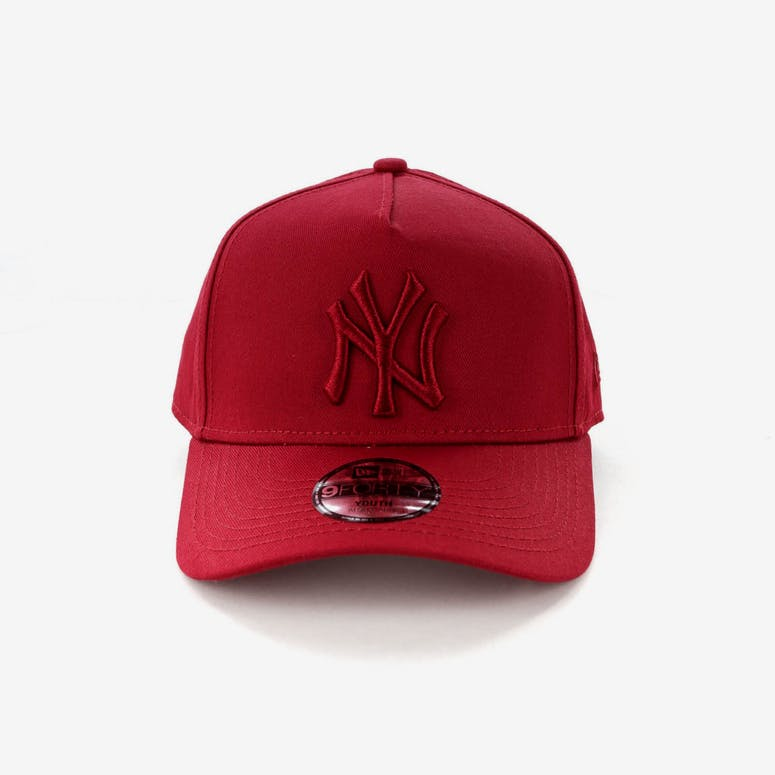 1d953bd5e256c New Era Youth New York Yankees 9FORTY A-Frame Strapback Crimson – Culture  Kings