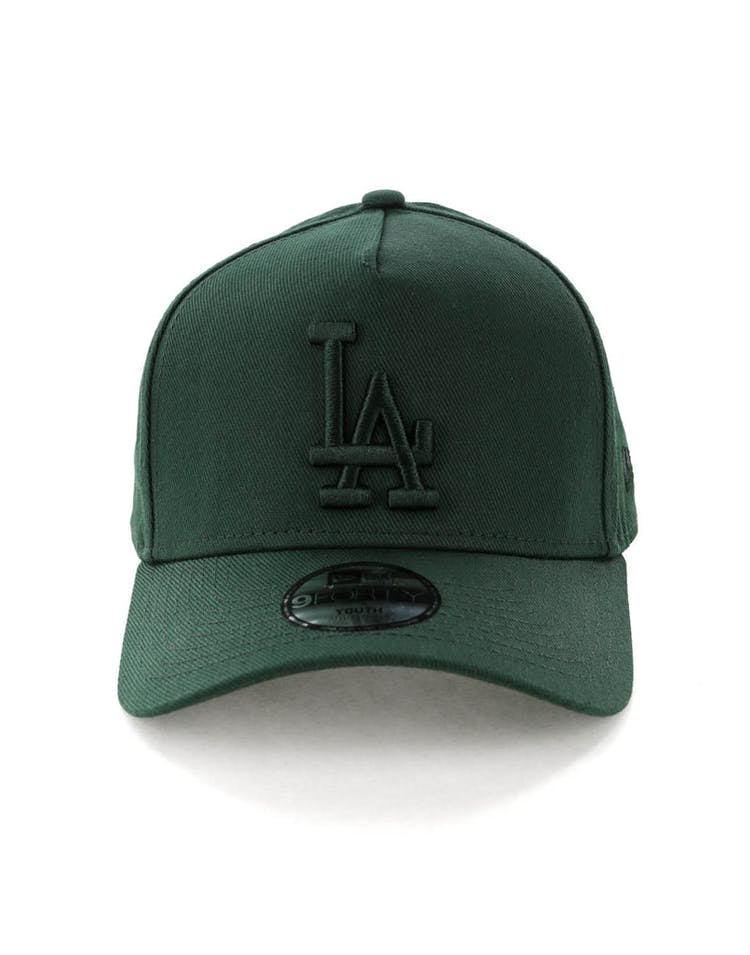 bdaa3a613bb44 New Era Youth Los Angeles Dodgers 9FORTY A-Frame Strapback Jade – Culture  Kings