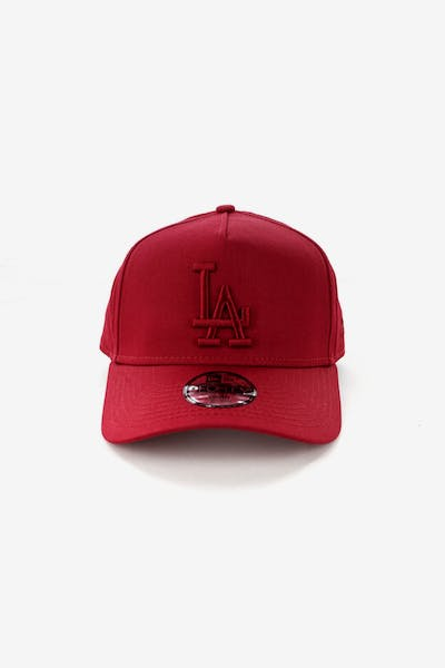New Era Youth Los Angeles Dodgers 9FORTY A-Frame Strapback Crimson