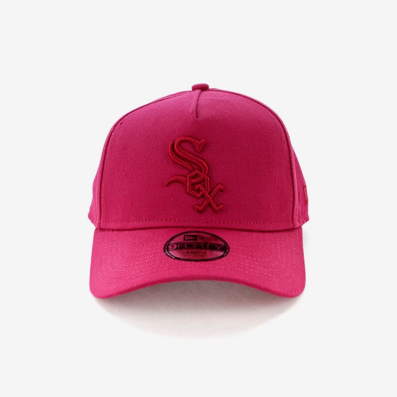 New Era Youth Chicago White Sox 9FORTY A-Frame Strapback Ruby – Culture  Kings 62a061728f94