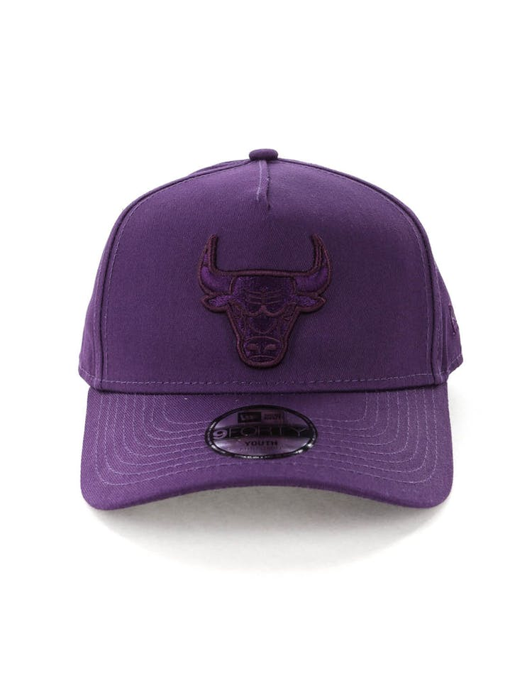 263d588ead0fcd New Era Youth Chicago Bulls 9FORTY A-Frame Strapback Violet – Culture Kings