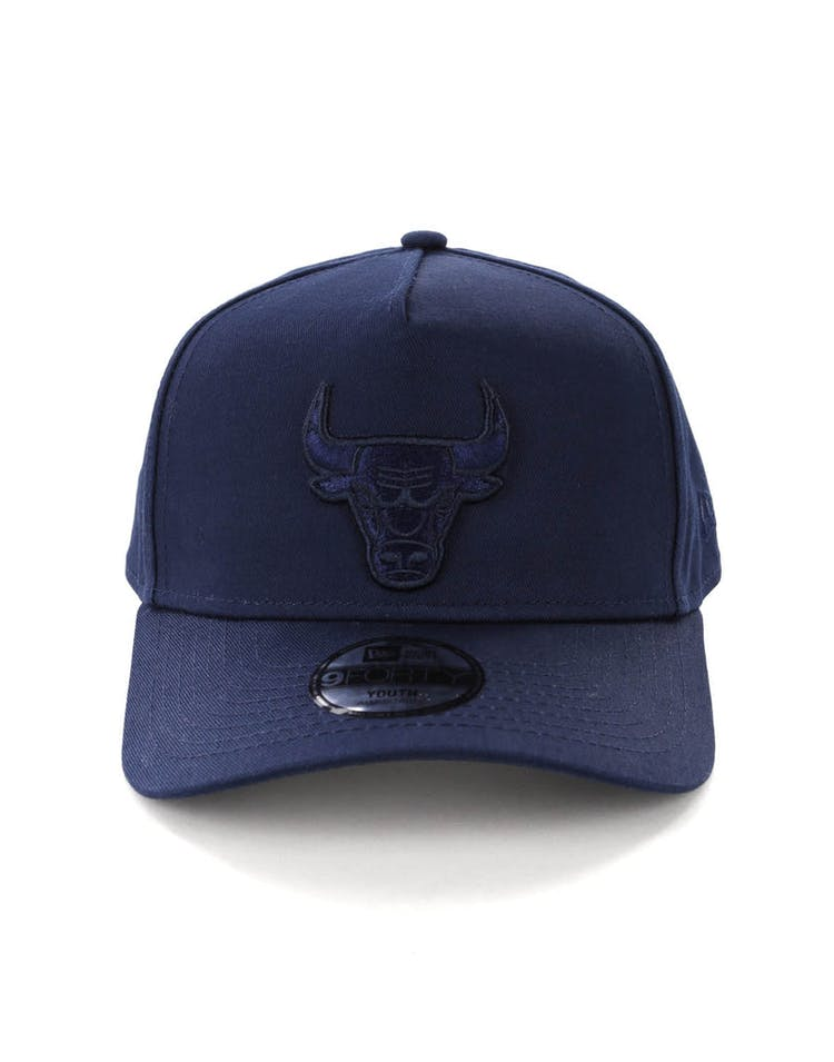 511f5d77303 New Era Youth Chicago Bulls 9FORTY A-Frame Strapback Teal – Culture Kings