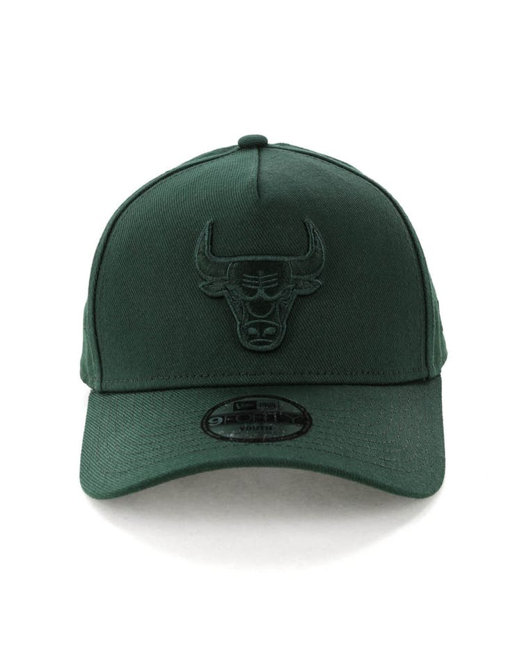 ac1db1f8500 New Era Youth Chicago Bulls 9FORTY A-Frame Strapback Jade – Culture Kings