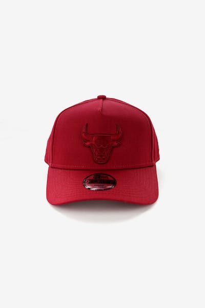 New Era Youth Chicago Bulls 9FORTY A-Frame Strapback Crimson