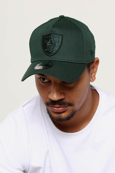 NEW ERA RAIDERS 9FORTY A-FRAME SNAPBACK JADE