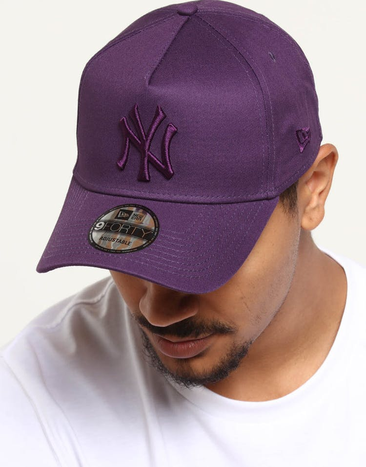 3e92bc3520afc NEW ERA NEW YORK YANKEES 9FORTY A-FRAME SNAPBACK VIOLET – Culture Kings