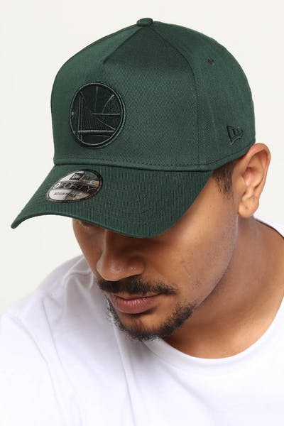 b9730fccd6ae4f NEW ERA GOLDEN STATE WARRIORS 9FORTY A-FRAME SNAPBACK JADE ...