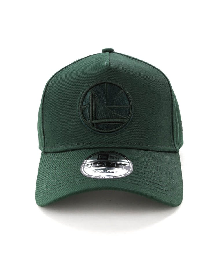 best sneakers c3c71 d47ee NEW ERA GOLDEN STATE WARRIORS 9FORTY A-FRAME SNAPBACK JADE