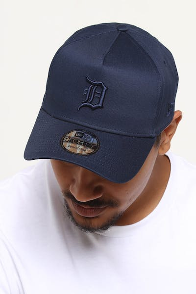 the latest 94c46 6a1c0 NEW ERA DETROIT TIGERS 9FORTY A-FRAME SNAPBACK NAVY ...