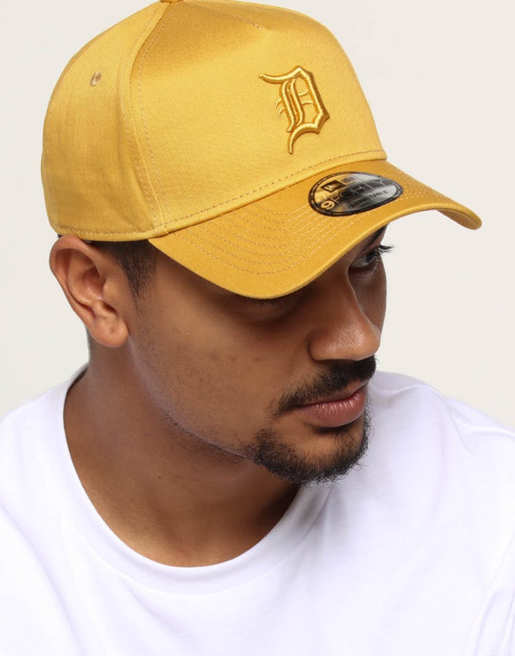32382078 NEW ERA DETROIT TIGERS 9FORTY A-FRAME SNAPBACK GOLD – Culture Kings