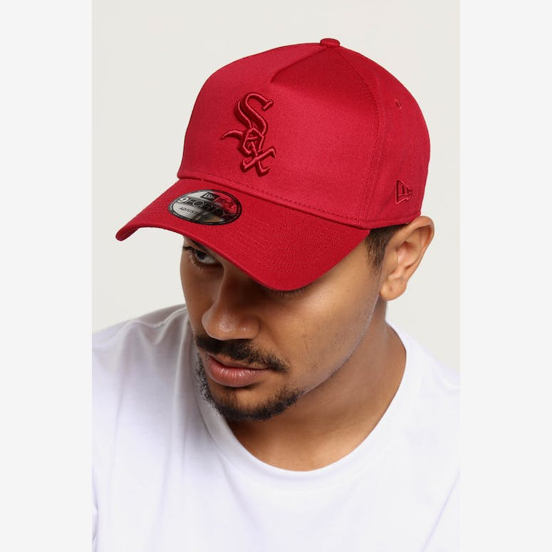 NEW ERA CHICAGO WHITE SOX 9FORTY A-FRAME SNAPBACK CRIMSON – Culture Kings 1bb4cfa1f857