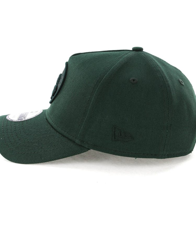 sale retailer ae917 1bfb7 NEW ERA BOSTON CELTICS 9FORTY A-FRAME SNAPBACK JADE