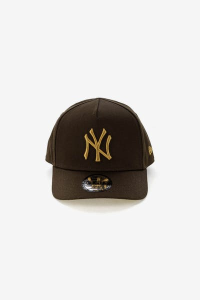 New Era Infants New York Yankees 9FORTY A-Frame Snapback Walnut Tan 0e8f87bb8ac24