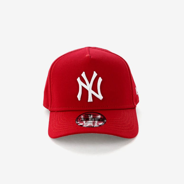 New Era Toddlers New York Yankees 9FORTY A-Frame Snapback Scarlet – Culture  Kings 9c57baba344