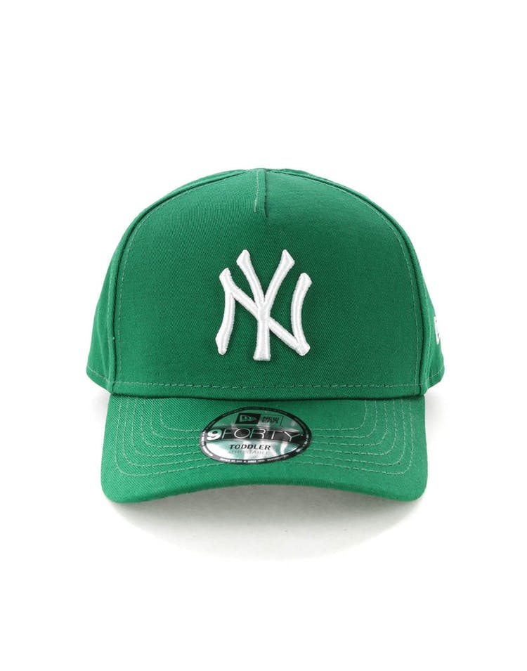 buy online 0f4d4 03e3b New Era Toddlers New York Yankees 9FORTY A-Frame Snapback Emerald Gree –  Culture Kings