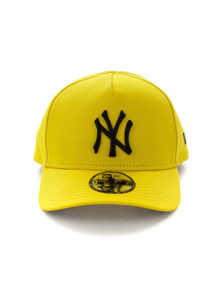 96704f467 New Era Toddlers New York Yankees 9FORTY A-Frame Snapback Yellow/Black –  Culture Kings