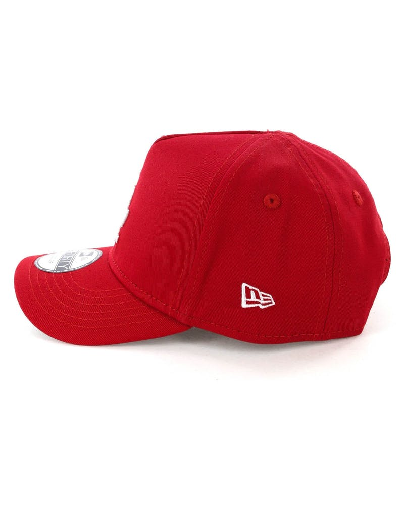New Era Toddlers Los Angeles Dodgers 9FORTY A-Frame Snapback Scarlet