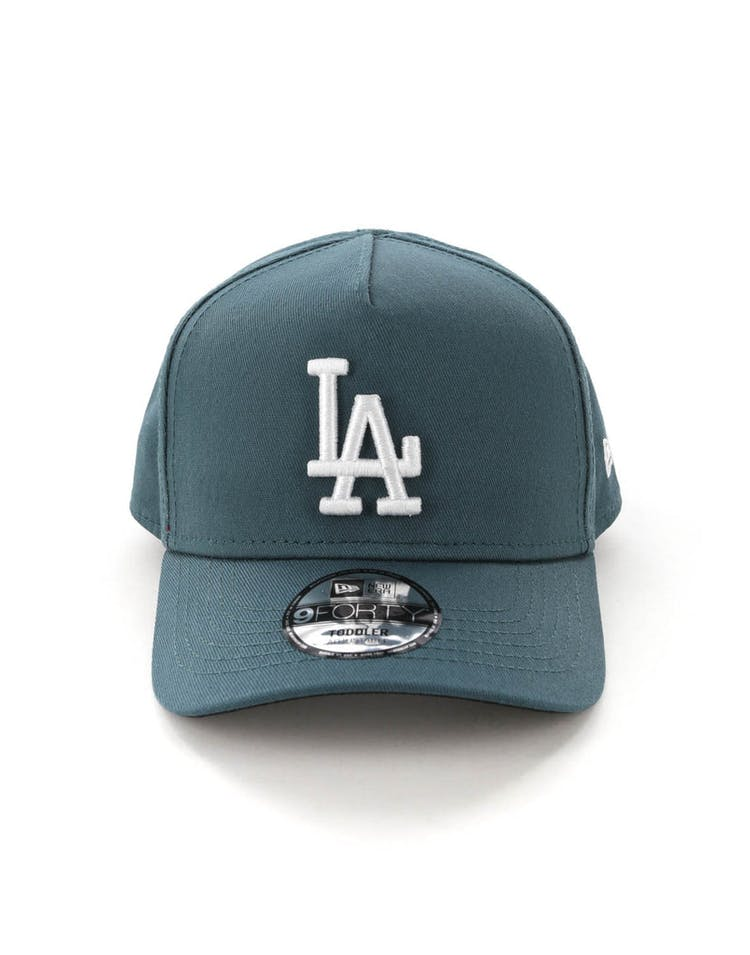 brand new be9c4 10be2 New Era Toddlers Los Angeles Dodgers 9FORTY A-Frame Snapback Blue Spru –  Culture Kings
