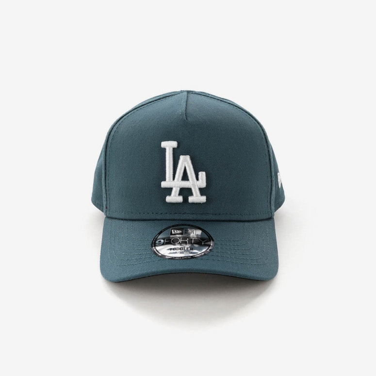 New Era Toddlers Los Angeles Dodgers 9FORTY A-Frame Snapback Blue Spruce