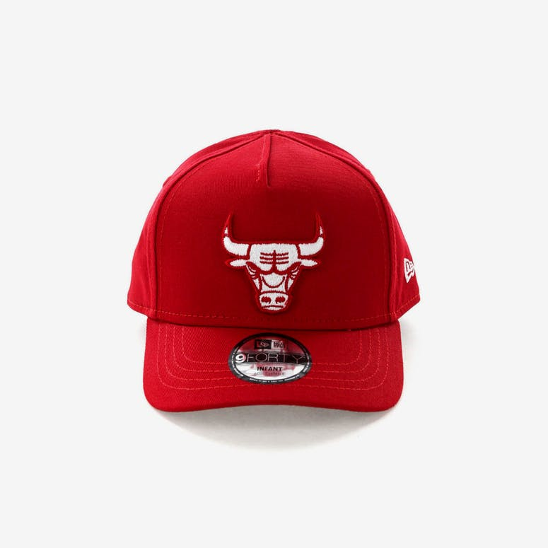 New Era Infant Chicago Bulls 9FORTY A-Frame Snapback Scarlet – Culture Kings 6b3c96a5c