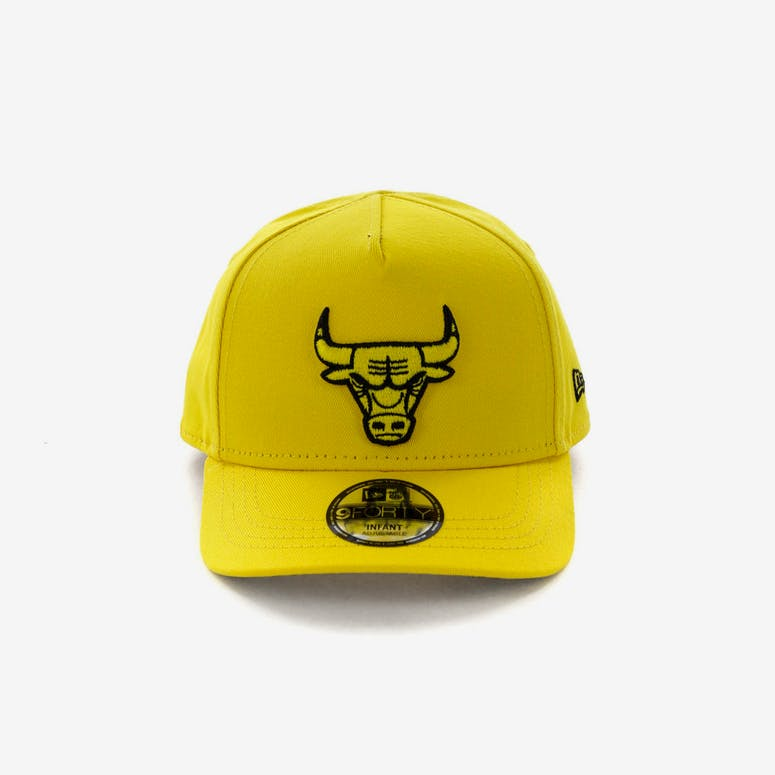 New Era Infant Chicago Bulls 9FORTY A-Frame Snapback Yellow Black – Culture  Kings f500a1d78b4c