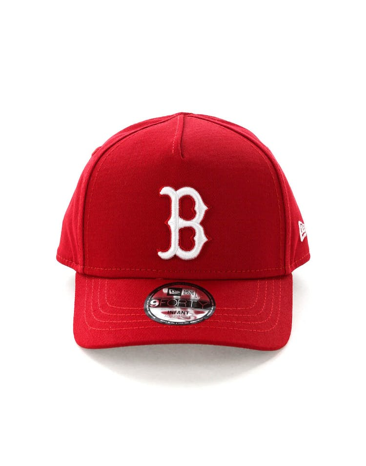 6eab2542f42 New Era Infant Boston Red Sox 9FORTY A-Frame Snapback Scarlet – Culture  Kings
