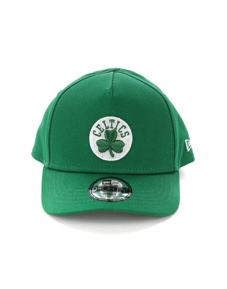 13fc2441 New Era Infants Boston Celtics 9FORTY A-Frame Snapback Emerald Green –  Culture Kings
