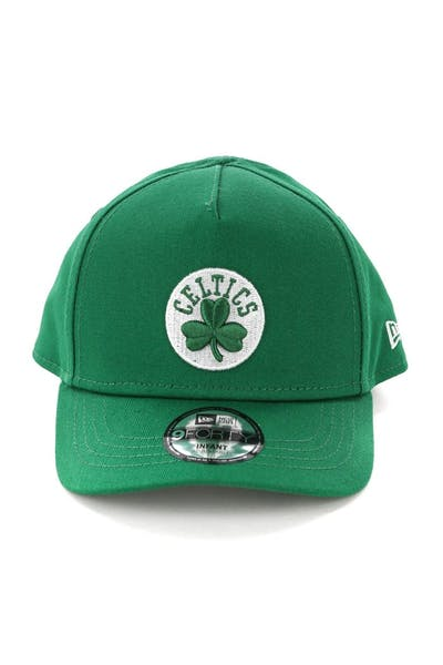 New Era Infants Boston Celtics 9FORTY A-Frame Snapback Emerald Green