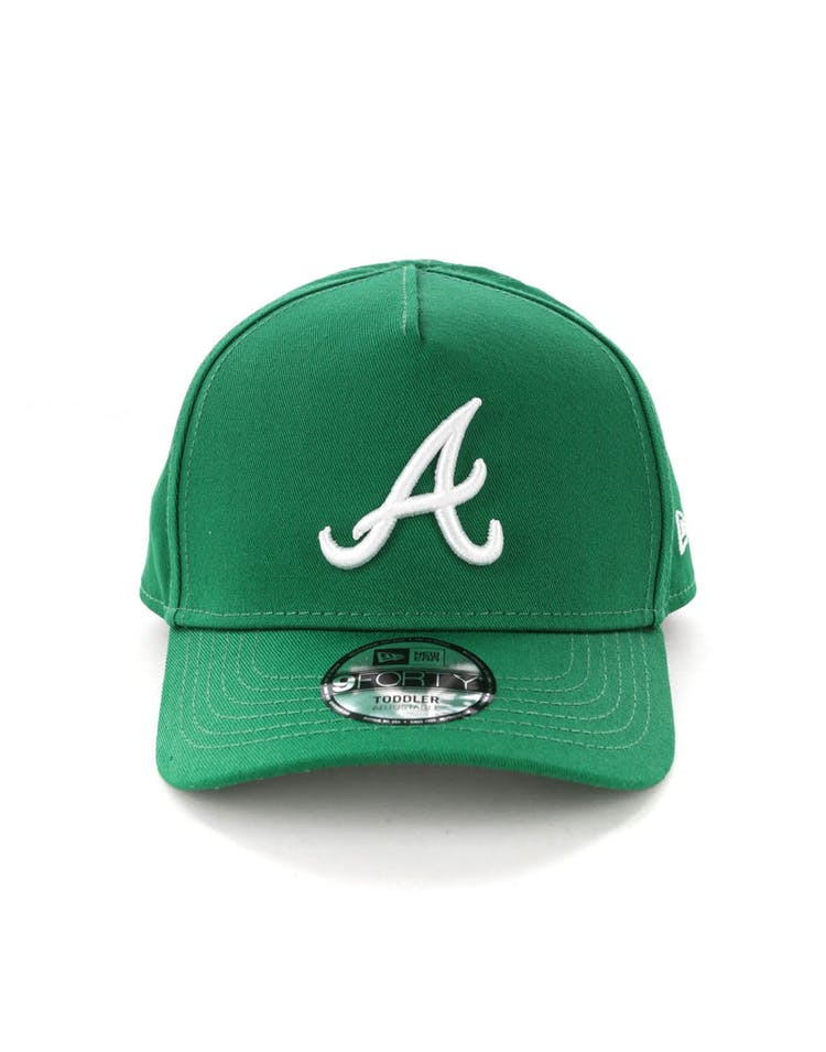 official photos f3229 a5850 New Era Toddlers Atlanta Braves 9FORTY A-Frame Snapback Emerald Green –  Culture Kings