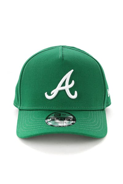 New Era Toddlers Atlanta Braves 9FORTY A-Frame Snapback Emerald Green
