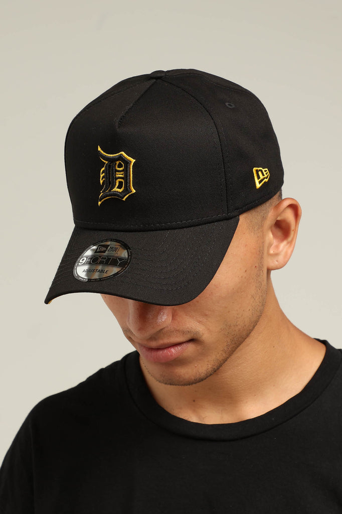 c824d08cc7b ... low price new era detroit tigers 9forty a frame snapback black yellow  culture kings 109e7 a55b9